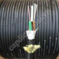 Cáp quang ADSS 24FO khoảng vượt 100m là loại cáp quang 24 core dùng trên đường điện lực