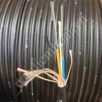 Cáp quang luồn cống 24FO là loại cáp 24 core dùng thi công trên thang máng cáp, luồn cống