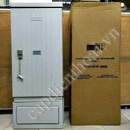 Tủ đấu dây MDF, tủ cáp điện thoại 600 đôi Postef KP600