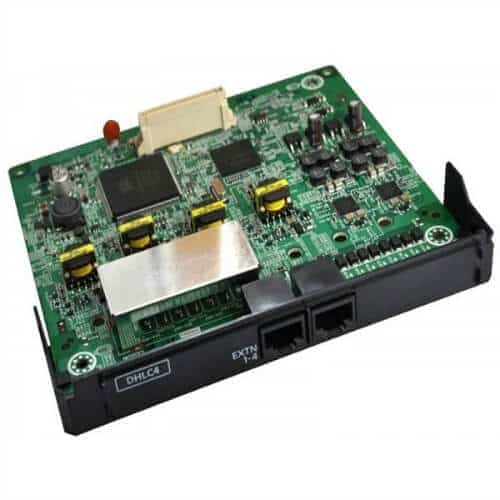 Kết quả hình ảnh cho KX-NS5170X: Card 4 máy nhánh hỗn hợp