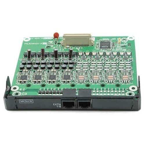 KX-NS5173X Card 8 máy nhánh analog