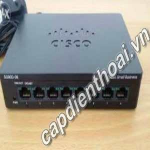 switch cisco 8 port gigabit SG90D-08