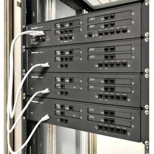 tổng đài panasonic kx-ns300bx lắp tủ rack