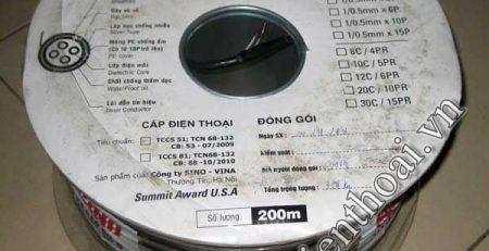 cap-dien-thoai-sino-dong-truc