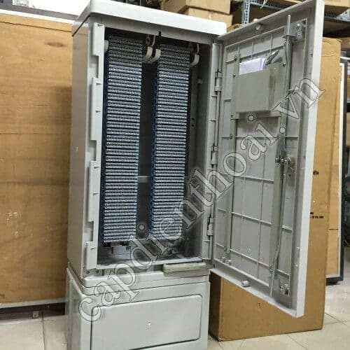 Tủ đấu dây MDF, tủ cáp điện thoại 1200 đôi Postef KP1200