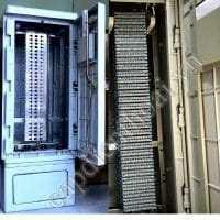 Tủ đấu dây điện thoại 300 đôi phiến Krone Đức. Tủ đấu dây MDF, tủ cáp điện thoại 300 đôi