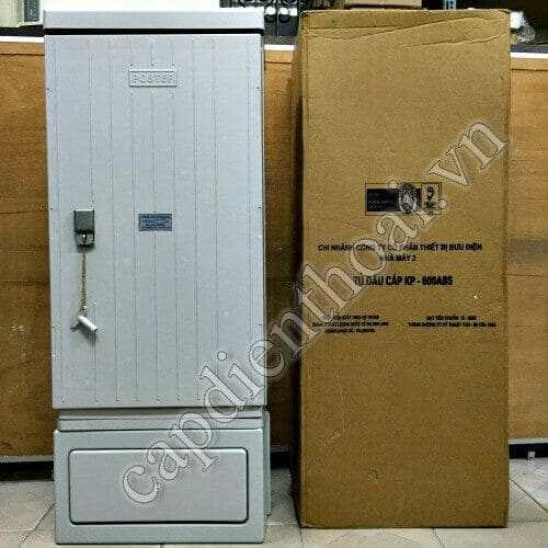 Tủ đấu dây MDF, tủ cáp điện thoại 500 đôi Postef KP600