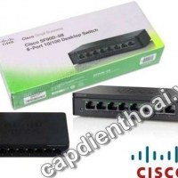 Thiết bị mạng switch cisco 8 port gigabit SG90D-08