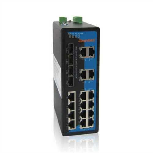 Switch Công Nghiệp 16 Cổng Ethernet + 4 Cổng Quang SFP