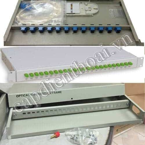 Hộp phối quang ODF 12Fo, 12 sợi, 12 core